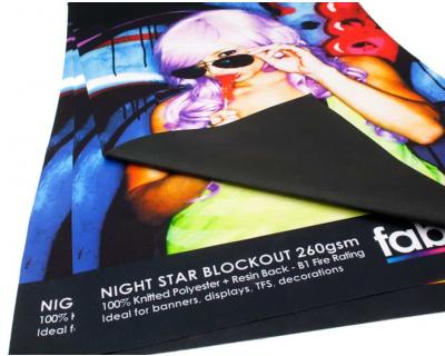 Blockout Display Fabric Printing